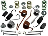 ACDelco 18K553 Professional Rear Drum Brake Spring Kit with Springs, Pins, Retainers, Washers, and Caps