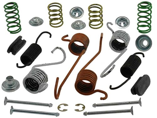 - ACDelco 18K553 Professional Rear Drum Brake Spring Kit with Springs, Pins, Retainers, Washers, and Caps