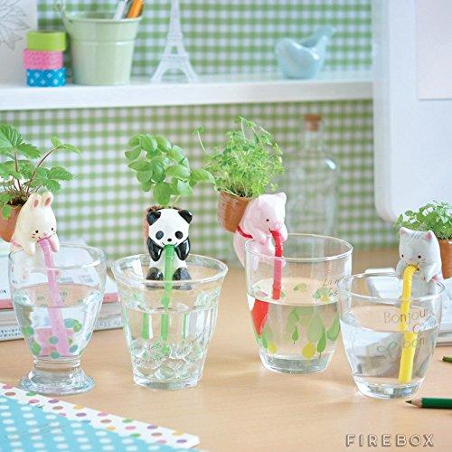 Amazon.com: 4Pieces/Set Ceramic Creature Mini Backpack Plant Pot ...