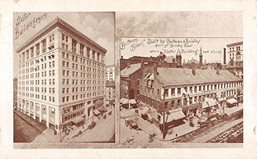 Worcester Massachusetts Historic Bldg Multiview Antique Postcard K86962 (Antique Worcester Massachusetts)