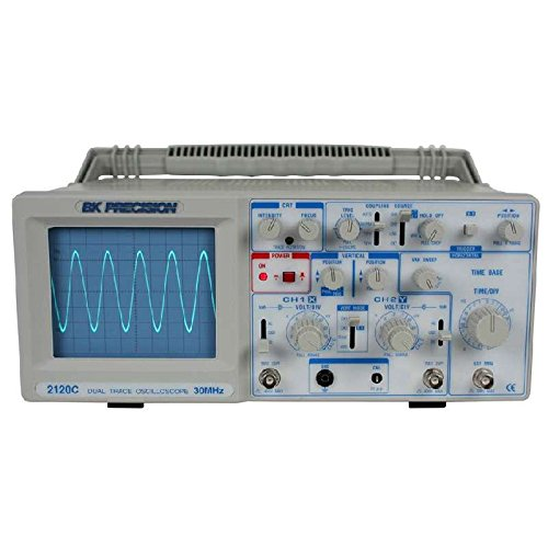 (30 MHz Dual Trace Analog Oscilloscope with Probes)