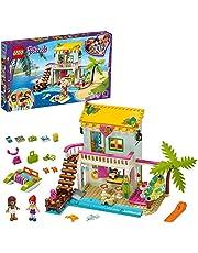 LEGO 41428 Friends Strandhus, Byggsats med Minidockor, Dockhus, Sommar Leksak, Barnleksaker