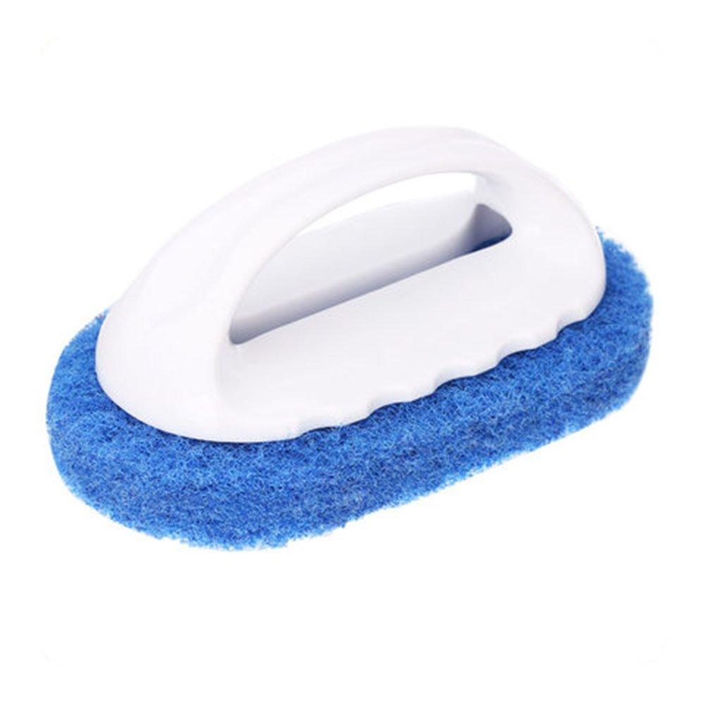 ounonaキッチンクリーニングブラシwithハンドルホーム浴室Strong染スクラブブラシ(ブルー) B06ZZCL33G