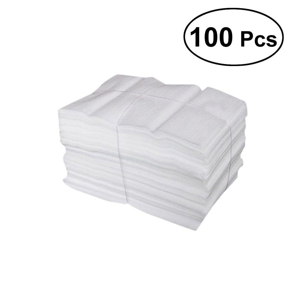 VORCOOL 100 Cushion Foam Pouches, Protect Mug, Glasses, China, and Dishes, Packing Supplies, Packing Cushioning Supplies for Moving