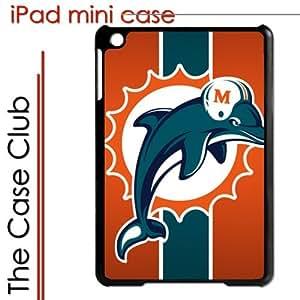 iPad Mini Black Protective Hard Case - Miami Dolphins Football NFL