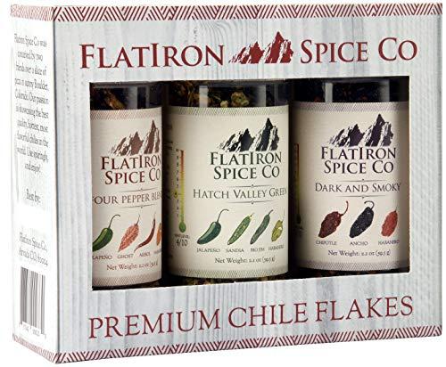 Flatiron Spice Co, Premium Chile Flakes (Combo Box) (Irons Hot Combo)
