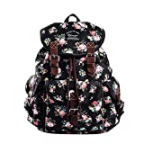 Douguyan Lightweight Backpack for Teen Young Girls Cute Backpack Print Rucksack Blue 163