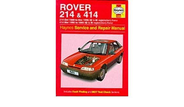 rover 214 and 414 89 96 service and repair manual haynes service rh amazon com rover 214 service manual pdf rover 214 and 414 service and repair manual