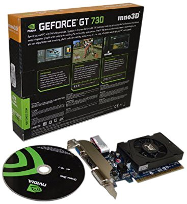 51KFCwRhvhL - Inno3D nvidia Geforce GT 730 DDR3 HDMI DVI VGA video graphics card PCI express pcie x16 HD 1080P + low profile bracket