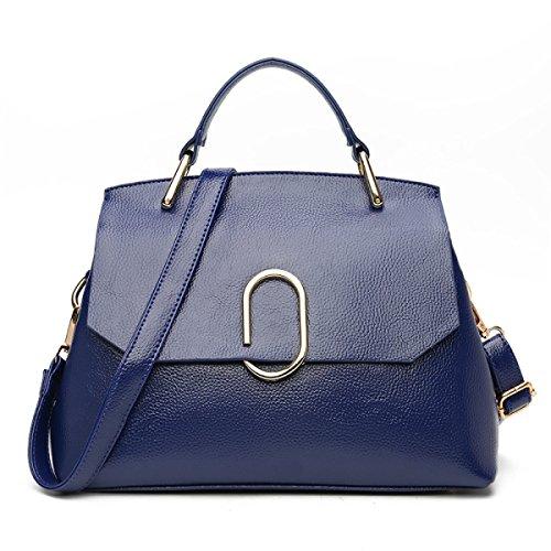 FZHLY Nuove Signore Fashion Boutique Spalla Pacchetto Diagonale,DarkBlue