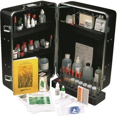 LaMotte Kit de pruebas de fertilidad del suelo por mesa King: Amazon.es: Jardín