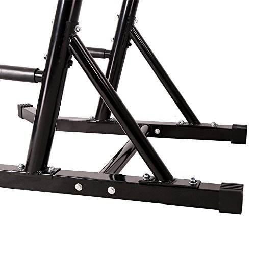 Ainfox Power Tower Pull up Bar Dip Stand Fitness Equipment Body Building Home Office