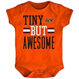 Outerstuff NCAA Oklahoma State Cowboys Newborn & Infant Tiny But Awesome Bodysuit, Orange, 12 Months