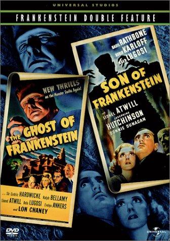 DVD : The Ghost of Frankenstein / Son of Frankenstein (Full Frame, , Dolby)