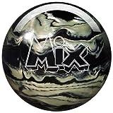 Storm Mix Urethane Bowling Ball, Black/White, 15 lb