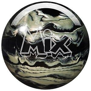 Storm Mix Urethane Bowling Ball, Black/White, 14 lb
