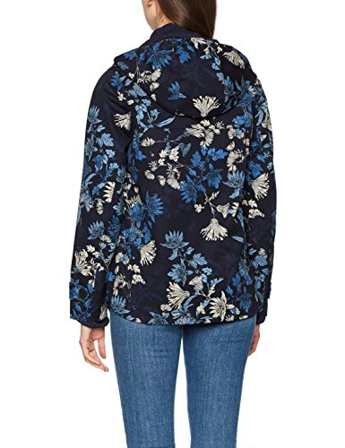 Joules Coast Print, Abrigo para Mujer Blue (French Navy Fay Floral)