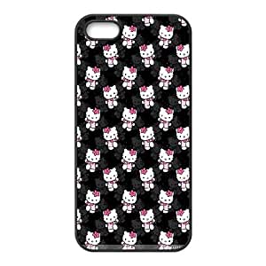 iPhone 5 5s Case Covers Black Hello Kitty L1KN