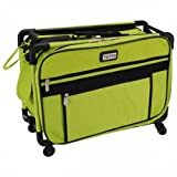 TUTTO Machine On Wheels Case 20''X13''X9''-Lime
