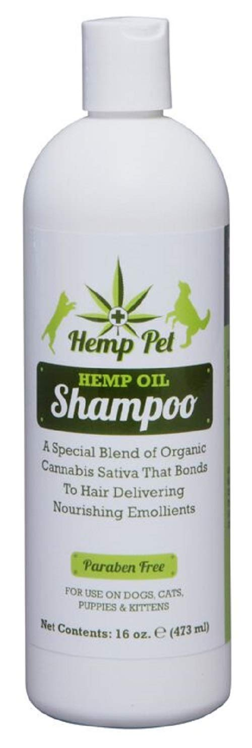 SHOW SEASON ANIMAL PRODUCTS 1 Hemp Oil Conditioning Shampoo 16oz - Hydrates Skin, Leaves Coat Soft - Helps Relieve Itching and Irritation
