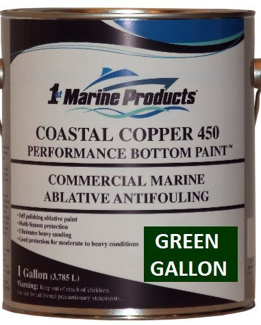 GREEN GALLON Coastal Copper 450 Ablative Antifouling Bottom Paint GREEN GALLON - Micron Csc Antifouling Bottom Paint