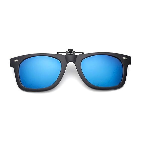 YUNCAT Gafas de Sol Polarizadas Clip Lentes de Espejo de ...
