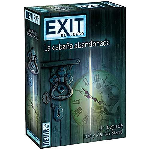 Devir - Exit: La cabaña abandonada, Ed. Español (BGEXIT1) a buen precio