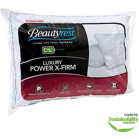 Beautyrest Luxury Power Extra Firm Pillow, Multiple Sizes