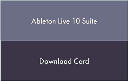 Ableton Live 10 Suite Multitrack Software De Grabación Musical Instruments