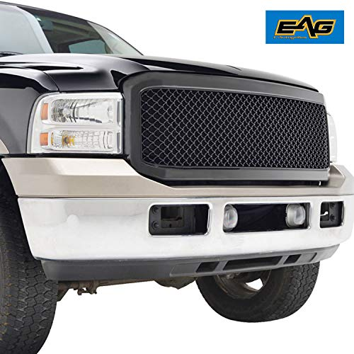EAG Black ABS Replacement Mesh Upper Grille