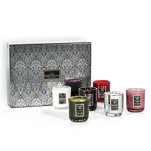 Voluspa 6 votive Candle Decorative Gift Set ()