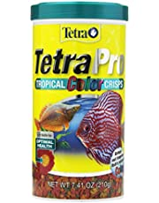 Tetra 77080 Pro Tropical Color Crisps, Fish Food With Natural Color Enhancers,7.41-Ounce (210 g)