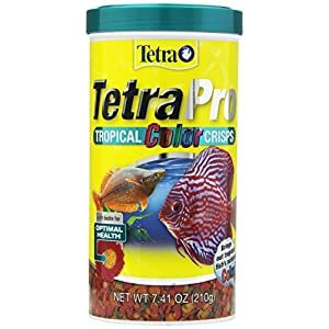 TetraPro Tropical Color Crisps, Fish Food With Natural Color Enhancers 31