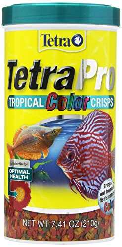 (TetraPro Tropical Color Crisps, Fish Food With Natural Color Enhancers)
