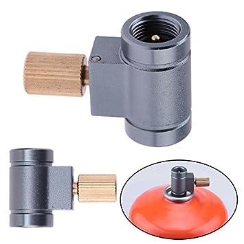 Broadroot palanca de válvula de gas Saver Plus Lindal Canister Recambio adaptador Estufa de Camping: Amazon.es: Deportes y aire libre