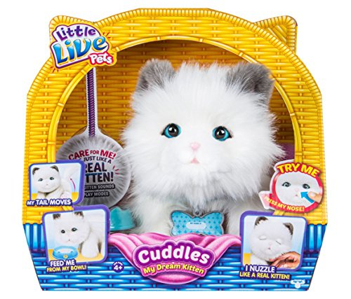 Mozlly Multipack - Little Live Pets Cuddles My Dream Kitten - Feed - Moving Tail - Nuzzles - Dolls (Pack of 6) - Item #S176007_X6 by Mozlly