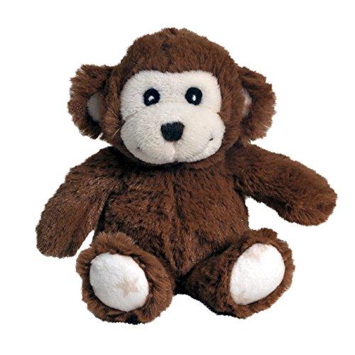 Cloud b Hugginz Rattle, Brown Monkey (Spot Plush Monkey)