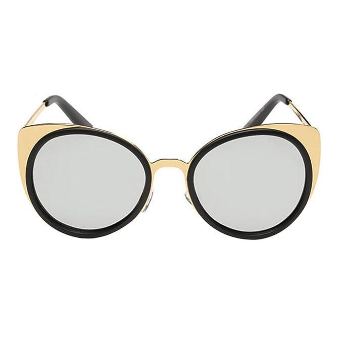 HSNZZPP Orejas De Gato De Metal Gafas De Sol Polarizadas Tendencia De La Moda Señoras Gafas