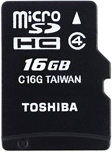 Toshiba HIGH SPEED M102 Micro SDHC 16GB Klasse 4 geheugenkaart tot 4MBs lezen