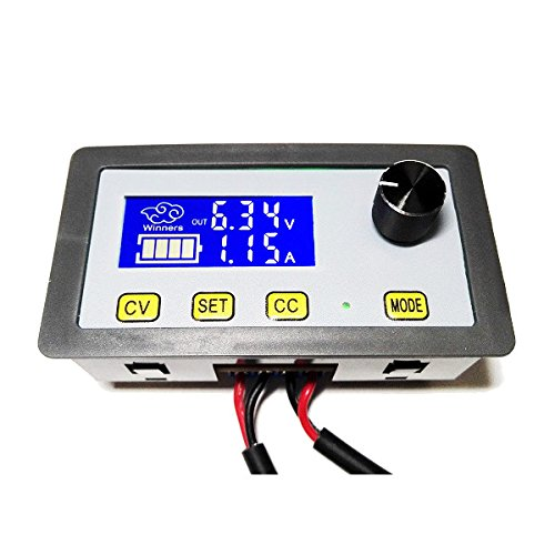 5A DC Adjustable CNC Step Down Power Supply Constant Voltage Current LCD Screen - (type: 1) - Arduino Compatible SCM & DIY Kits
