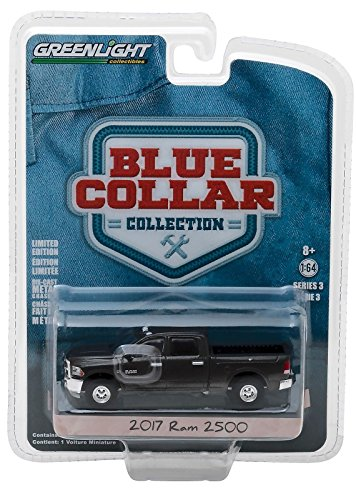 2017 Dodge Ram 2500 Pickup Truck Blue Collar Collection Series 3 1/64 Diecast Model Car by Greenlight 35080 F