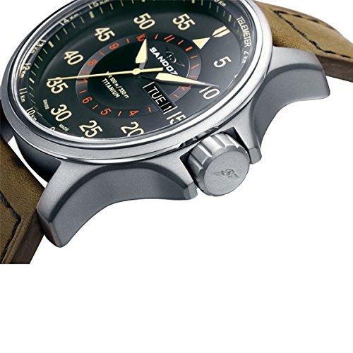 e34379626d43 Reloj Sandoz Adventurer Titanium 81399-95  Amazon.es  Relojes