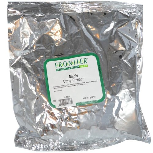 Frontier Natural Products BG13226 Frontier Muchi Curry, Hot - 1x1LB