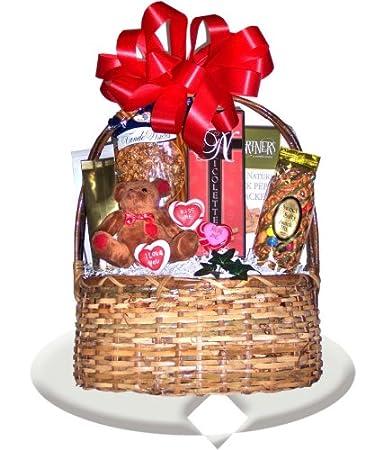 Amazon Com Valentines Day Ideas For Boyfriend Gift Basket
