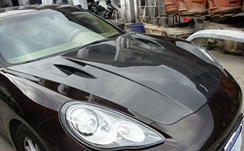 Porsche Carbon Fiber Hood - Eppar® New Carbon Fiber Hood Bonnet for Porsche Panamera 2011-2013 (A Style)