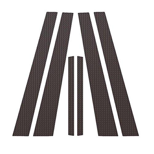 Ferreus Industries Carbon Fiber Pillar Post Trim Cover fits: 2002-2006 Nissan Altima 4 Door Sedan PIL-012-CF ()