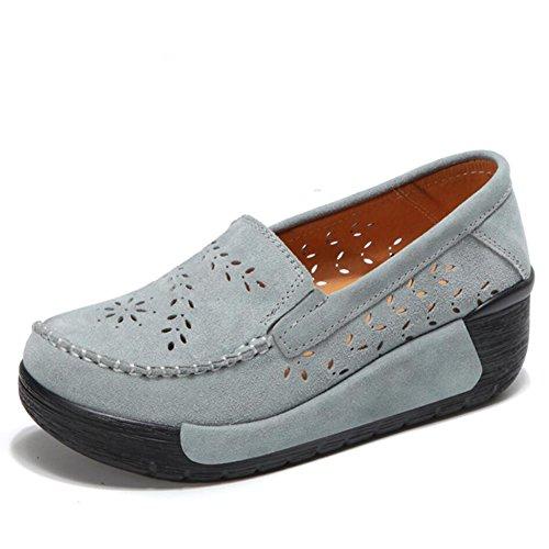 guida Sneakers Slip Donna Primavera Flat Platform Guida Mocassini Xue Un Athletic Shake Shaking E Fitness Autunno Loafers Scarpe Da Shoes Suede qTAA8Wgz4