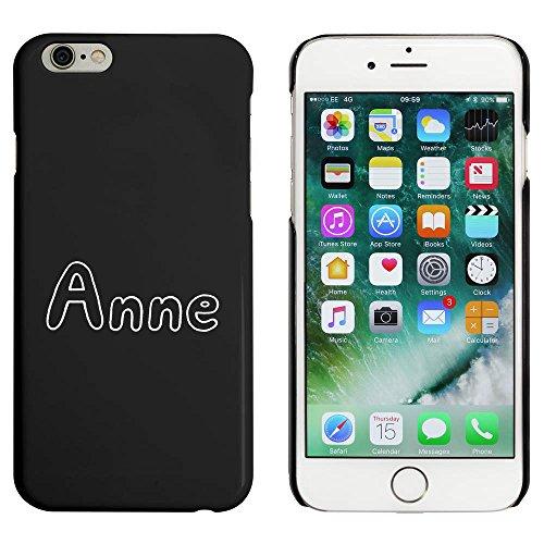 Schwarz 'Anne' Hülle für iPhone 6 u. 6s (MC00045597)