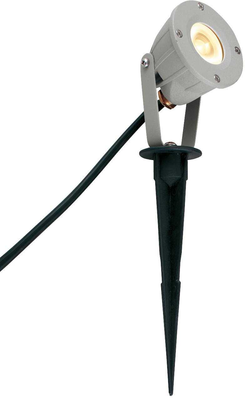 ユニソン(UNISON) 12V照明  エコルト(ekolt) スポットライト LED   EA  01011  12 電球色 マットシルバー トランスケーブル30mセット B01LXF7J5R 13465 スポットライト トランスケーブルセット