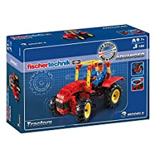fischertechnik Basic Tractors Kit, 130-Piece